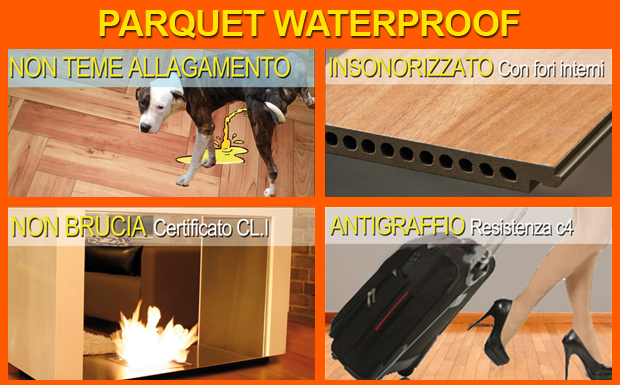 parquet rovere waterproof